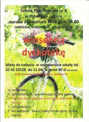 Dyskoteka _kwiecień 2018-2